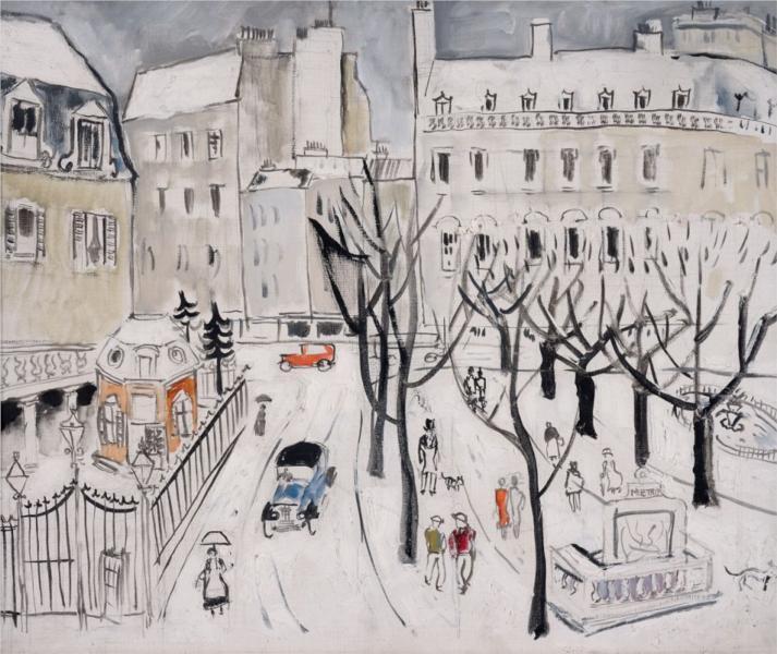 Paris Snow Scene, 1926 - Christopher Wood