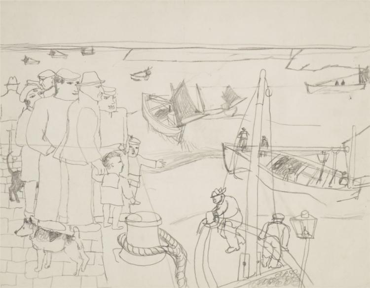 St. Ives, 1928 - Christopher Wood