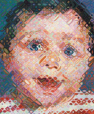 Emma, 2002 - Chuck Close