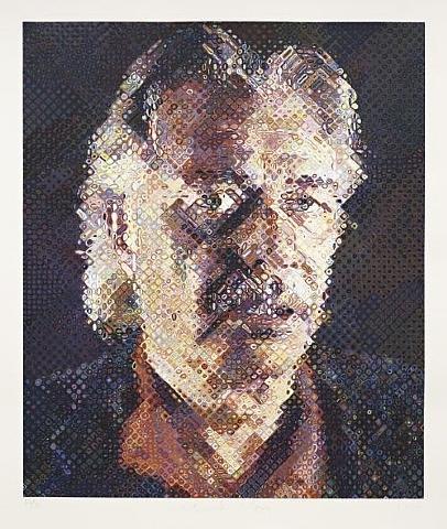 John, 1998 - Chuck Close