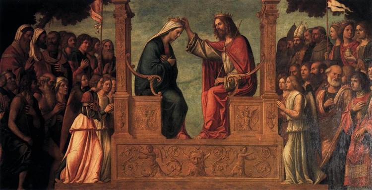 The Coronation of the Virgin - Cima da Conegliano