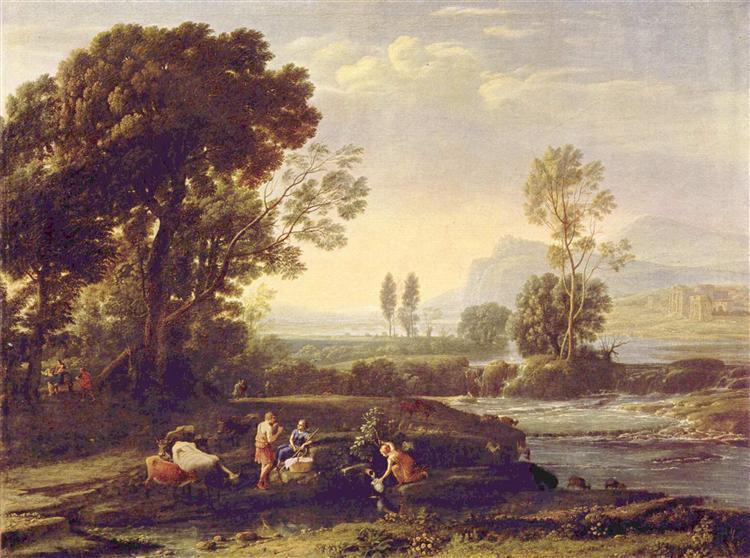 Landscape with the Flight into Egypt, 1647 - Claude Lorrain