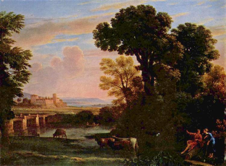 Pastoral Landscape, 1648 - Claude Lorrain