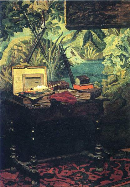 A Corner of the Studio, 1861 - Claude Monet