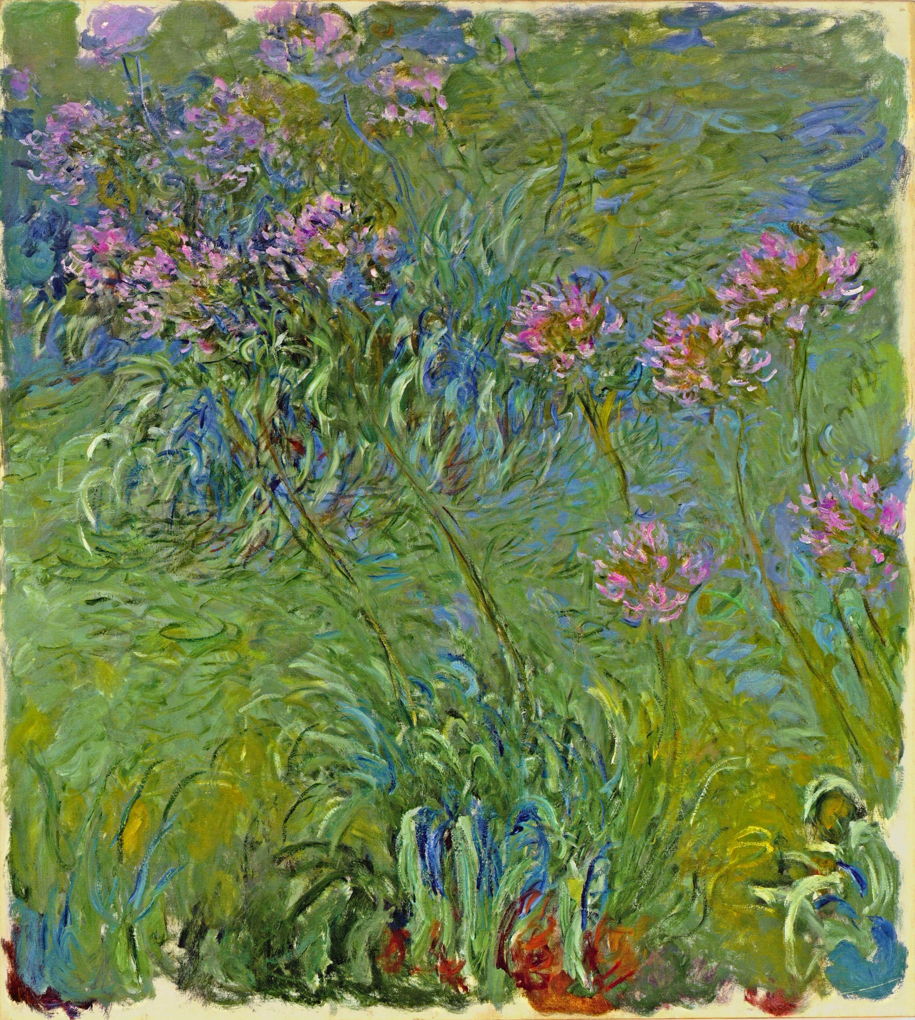 impressionism monet flowers - photo #20