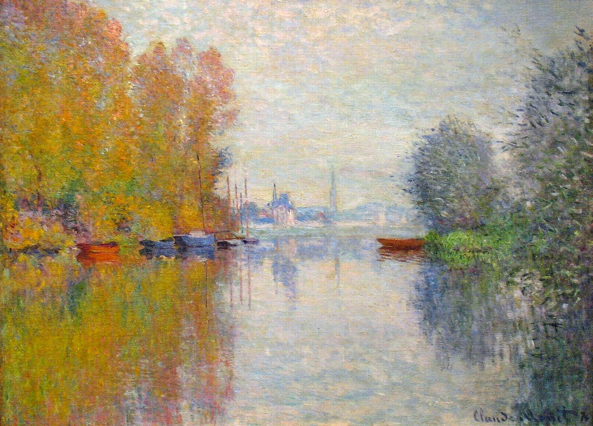 Обои Пейзаж, картина, Жуан-ле-Пен, Клод Моне. Разное foto 10