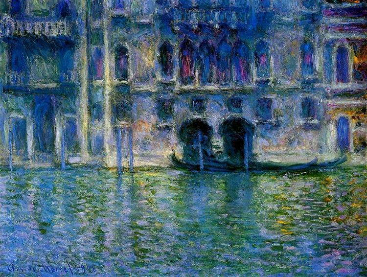 Palazzo da Mula at Venice, 1908 - Claude Monet