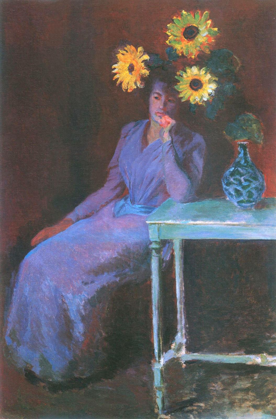 Self-Portrait with a Beret Claude Monet Malmo Sweden Oil