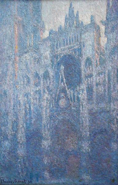 Rouen Cathedral, Clear Day, 1894 - Claude Monet