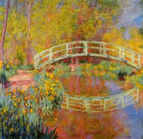 Claude Monet - The Japanese Bridge (The Bridge In Monet's Garden)
