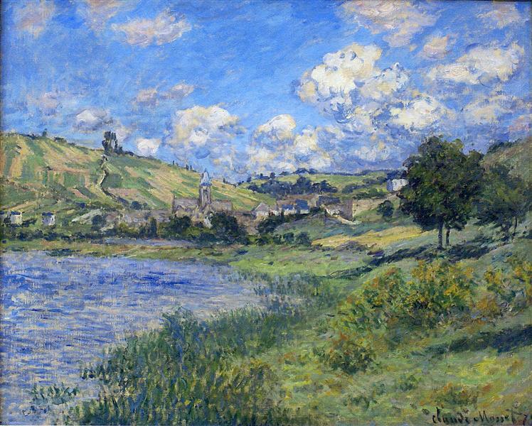 Vetheuil, Paysage, 1879 - Claude Monet