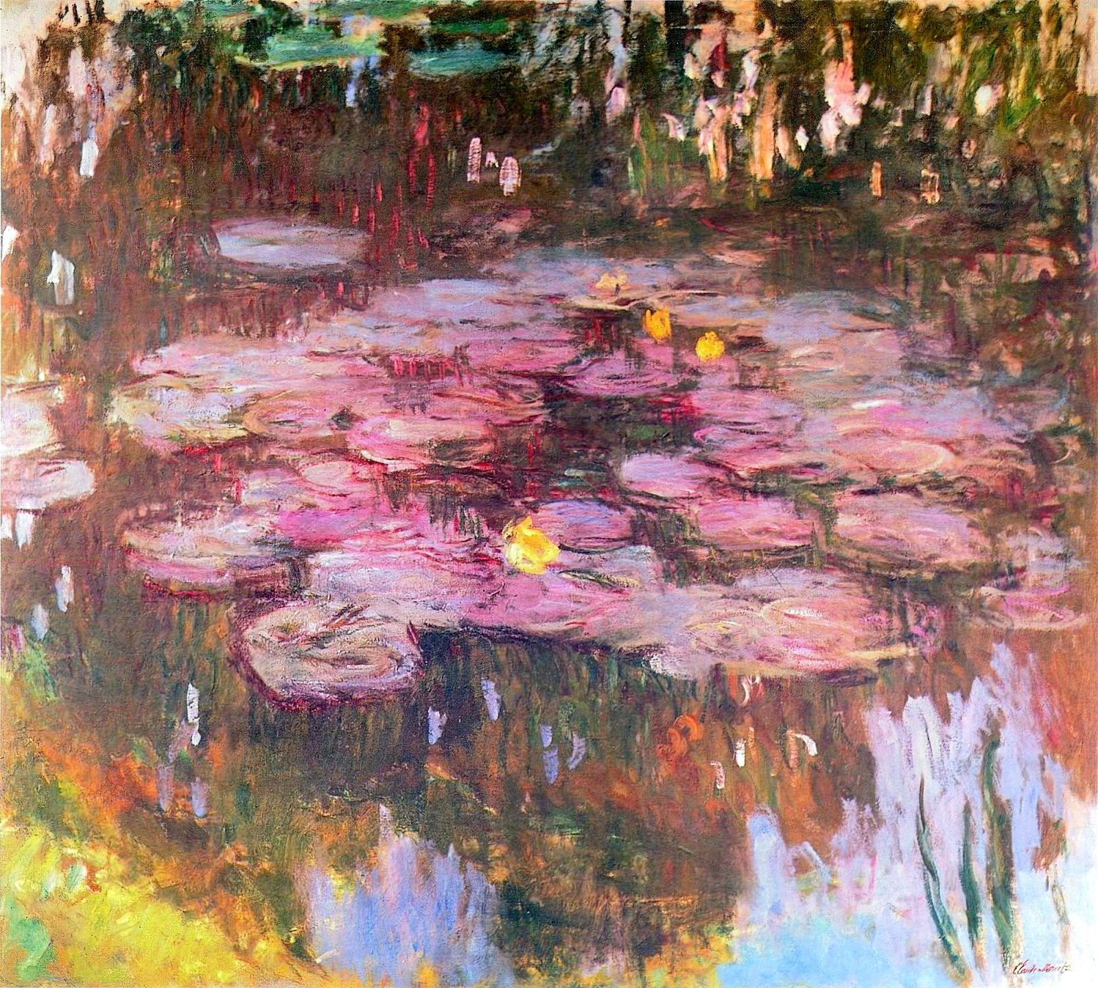 an analysis of the painting collection the waterlilies series Name: series of paintings of water lilies (nymphéas) (1897-1926) artist: claude monet (1840-1926) analysis of monet's paintings of water lilies at giverny.