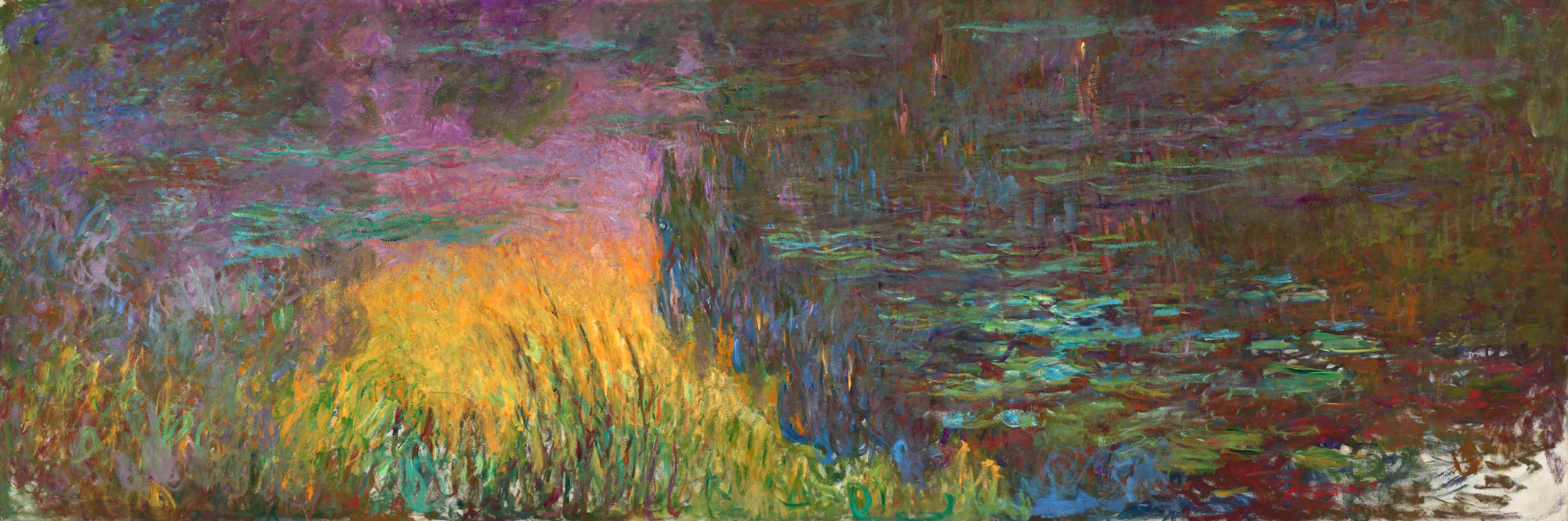 Water Lilies 1914 1926 Claude Monet Wikiart Org