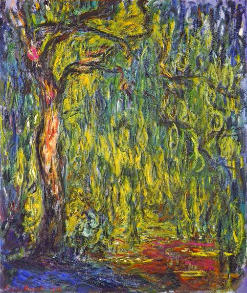 Weeping Willow, 1918 - Claude Monet