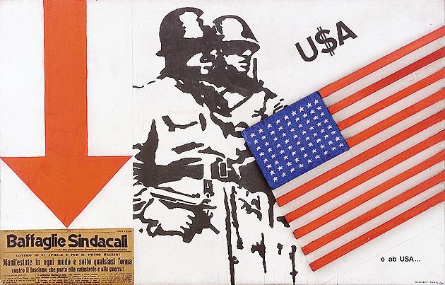 USA e abUSA, 1966 - Claudio Tozzi