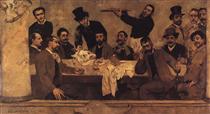 The Lion's Group - Columbano Bordalo Pinheiro