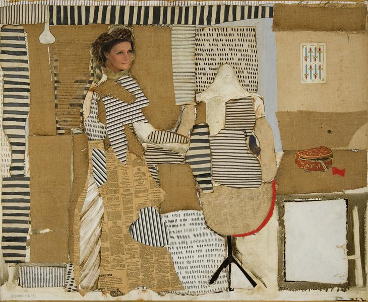 The Dressmaker, 1982 - Conrad Marca-Relli