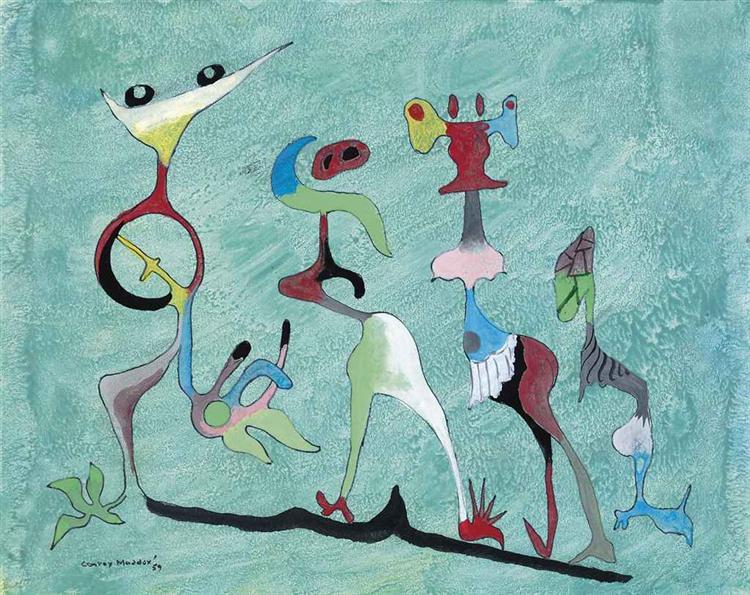 The Ambiguous Group, 1959 - Conroy Maddox