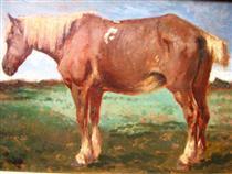 Horse Portrait - Констан Труайон