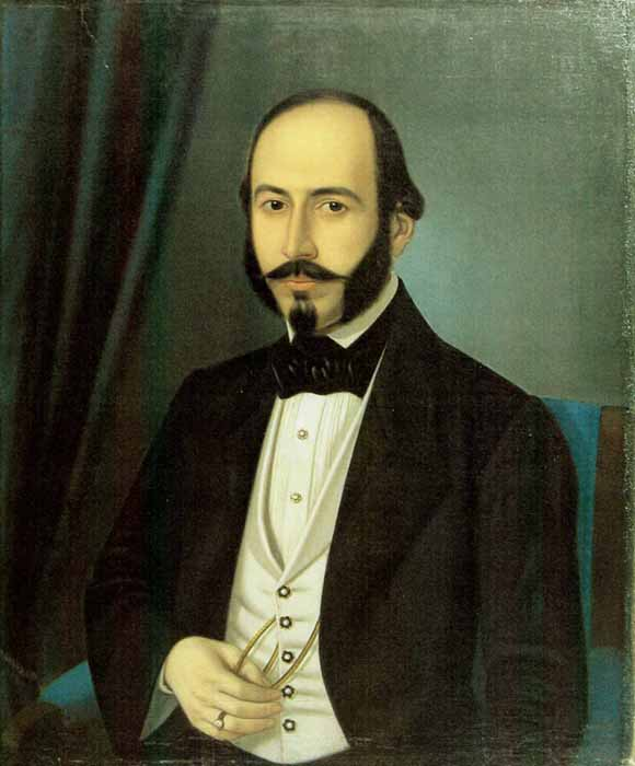Portrait of Teodor Arion, 1848