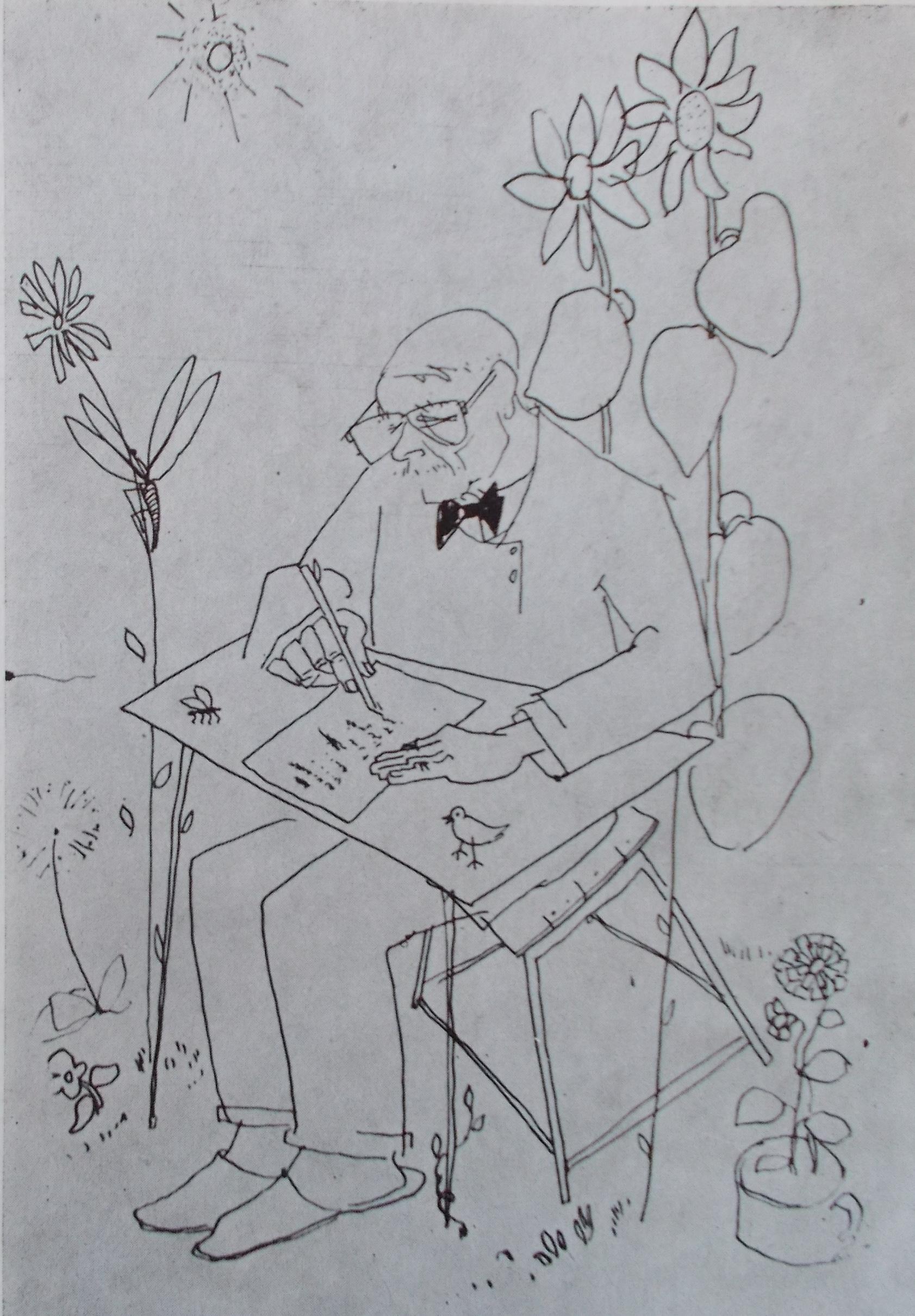 Illustration for Tudor Arghezi's Good Morning, Springtime