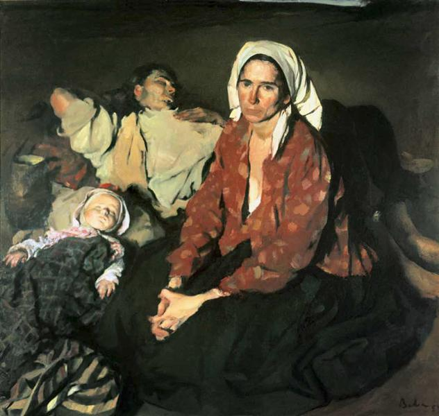Field Rest, 1954 - Corneliu Baba