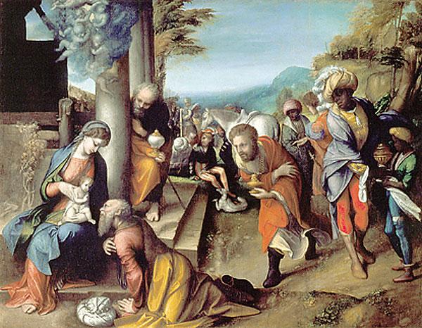 Adorationof the Magi, 1517 - Correggio