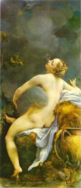 Jupiter and Io, 1531 - 1532 - Correggio