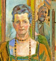 Self Portrait with Wife, 1930