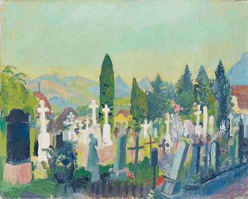 Stans, Friedhof, 1942
