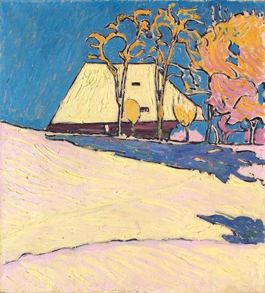Winter auf der Oschwand, 1908