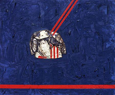 Juan Gris in Paris (adieu Picabia), 1960 - Dan Flavin