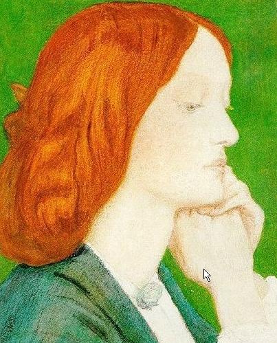 Elizabeth Siddal - Dante Gabriel Rossetti