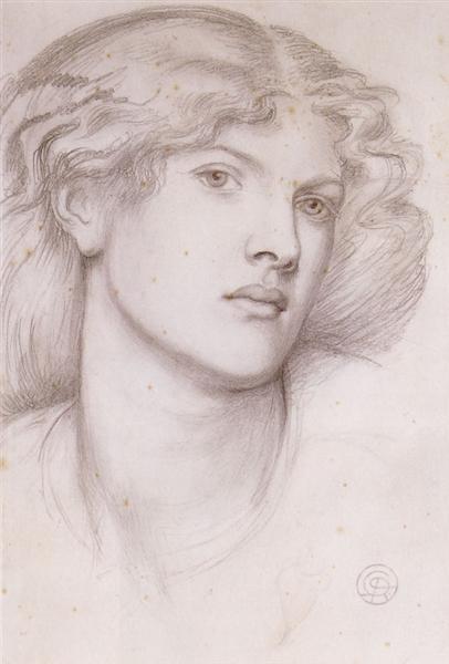 Fanny Cornforth - Rossetti Dante Gabriel