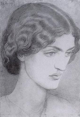 Jane Morris, 1857