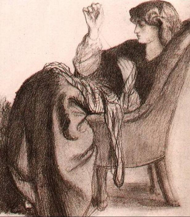 Jane Morris, 1860