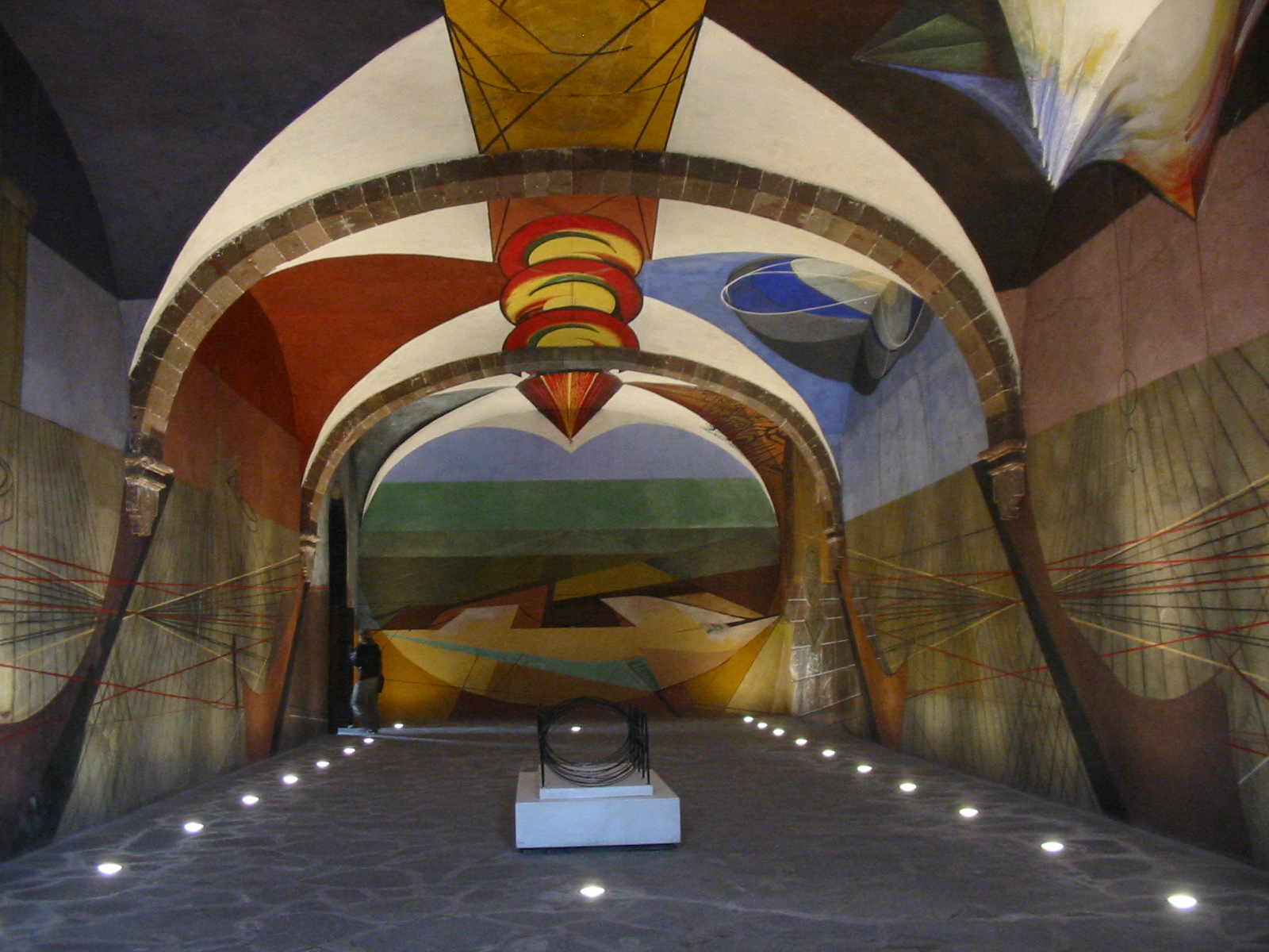 unfinished mural david alfaro siqueiros