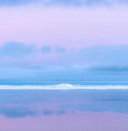 Pink Dusk, Antarctica, 2008 - David Burdeny