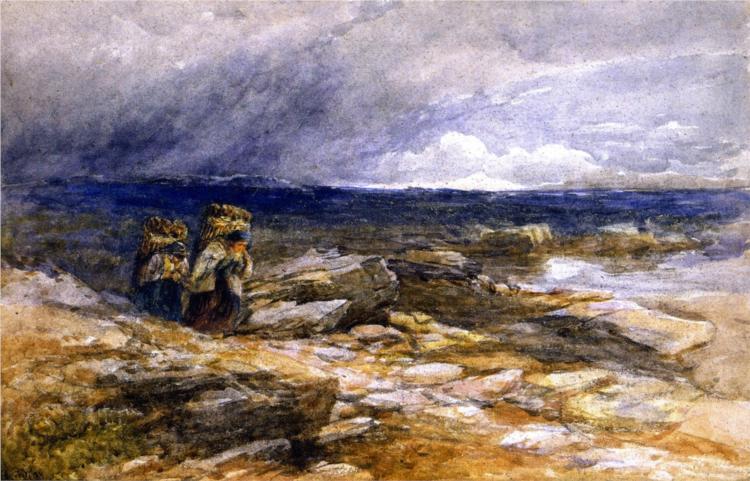 Peat Gatherers, 1853 - David Cox