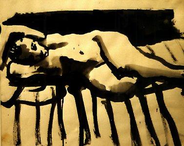 Reclining Nude, 1960 - David Park