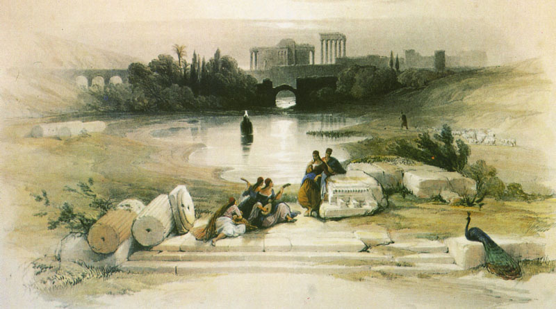 Baalbek. From the Fountain