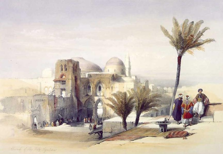 Church of the Holy Sepulchre, Jerusalem, 1849
