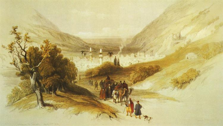 Nablus - David Roberts