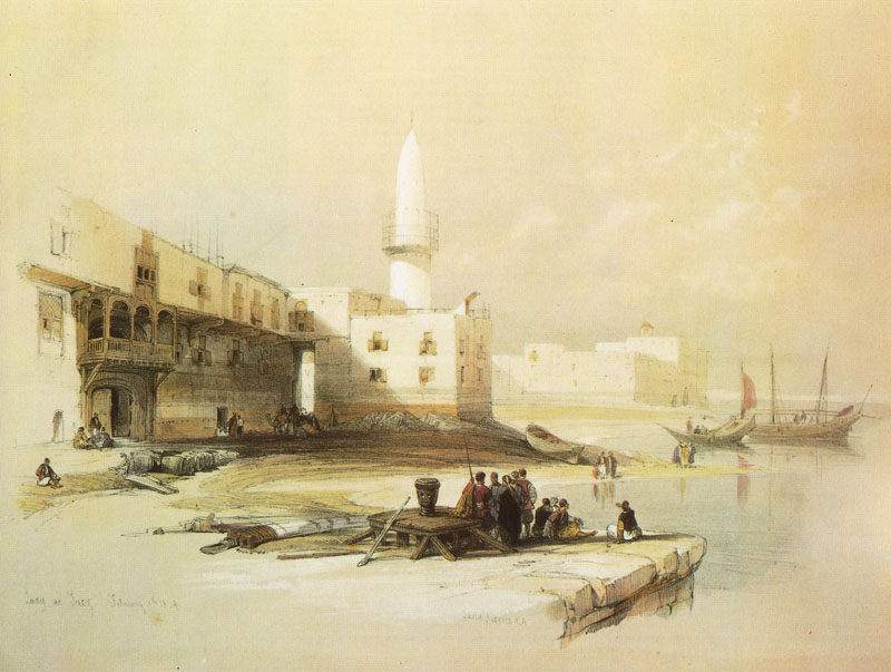 Scene on the Quay of Suez