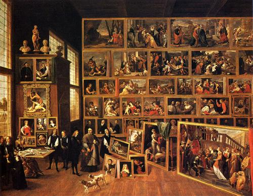 Archduke Leopold's Gallery - David Teniers the Younger
