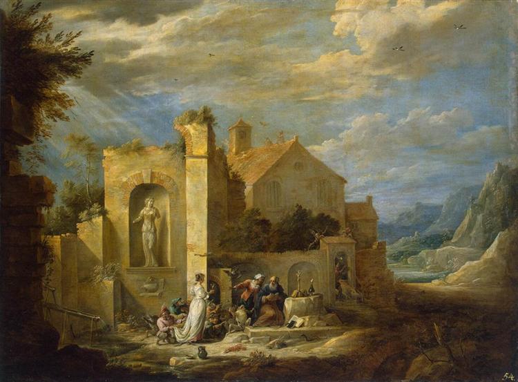 The Temptation of St. Anthony, c.1655 - David Teniers el Joven