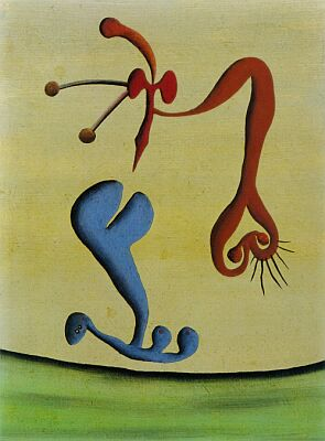 The Lovers, 1948 - Desmond Morris