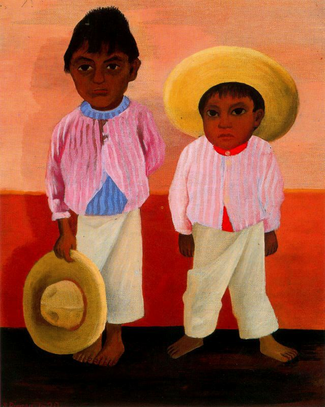 My Godfather's Sons (Portrait of Modesto and Jesus Sanchez), 1930