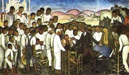 Partition of the Land. - Diego Rivera