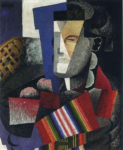 Portrait de Martin Luis Guzman - Diego Rivera